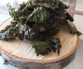 Krunchy Kale Chips