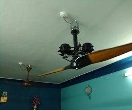 Propeller Mounted Ceiling Fan