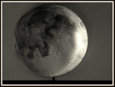 Arduino Controlled Model Moon Synchronizes Phase Changes With Actual Lunar Calendar