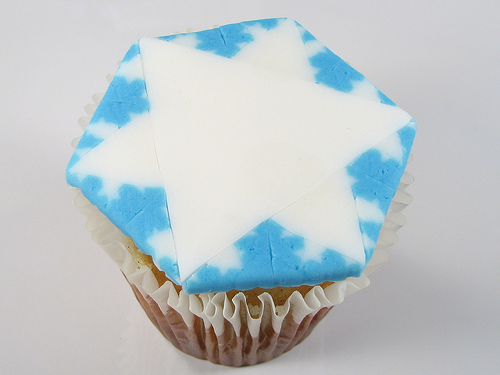 Picture of Fractal Snowflake Cupcakes