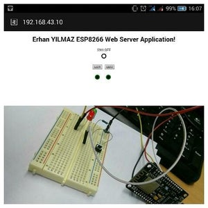 NodeMCU Getting Started and Web Server Application