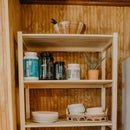 DIY Shelving Unit | Organization