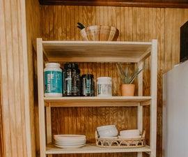 DIY Shelving Unit | Organization