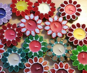 How It Is Made: Quilled Paper Candle?
