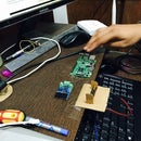 A/D converter with MCP3428 and Rasberry pi