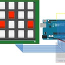 Keypad Button Servo Positioner