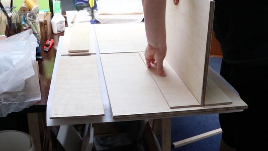 Preparing the Shelf Insets