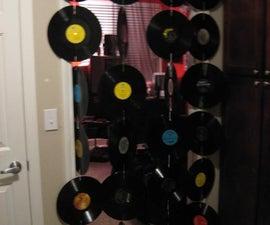 Vinyl door curtain