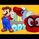 How to Make SUPER MARIO ODYSSEY HAT Real Size and Super Easy!