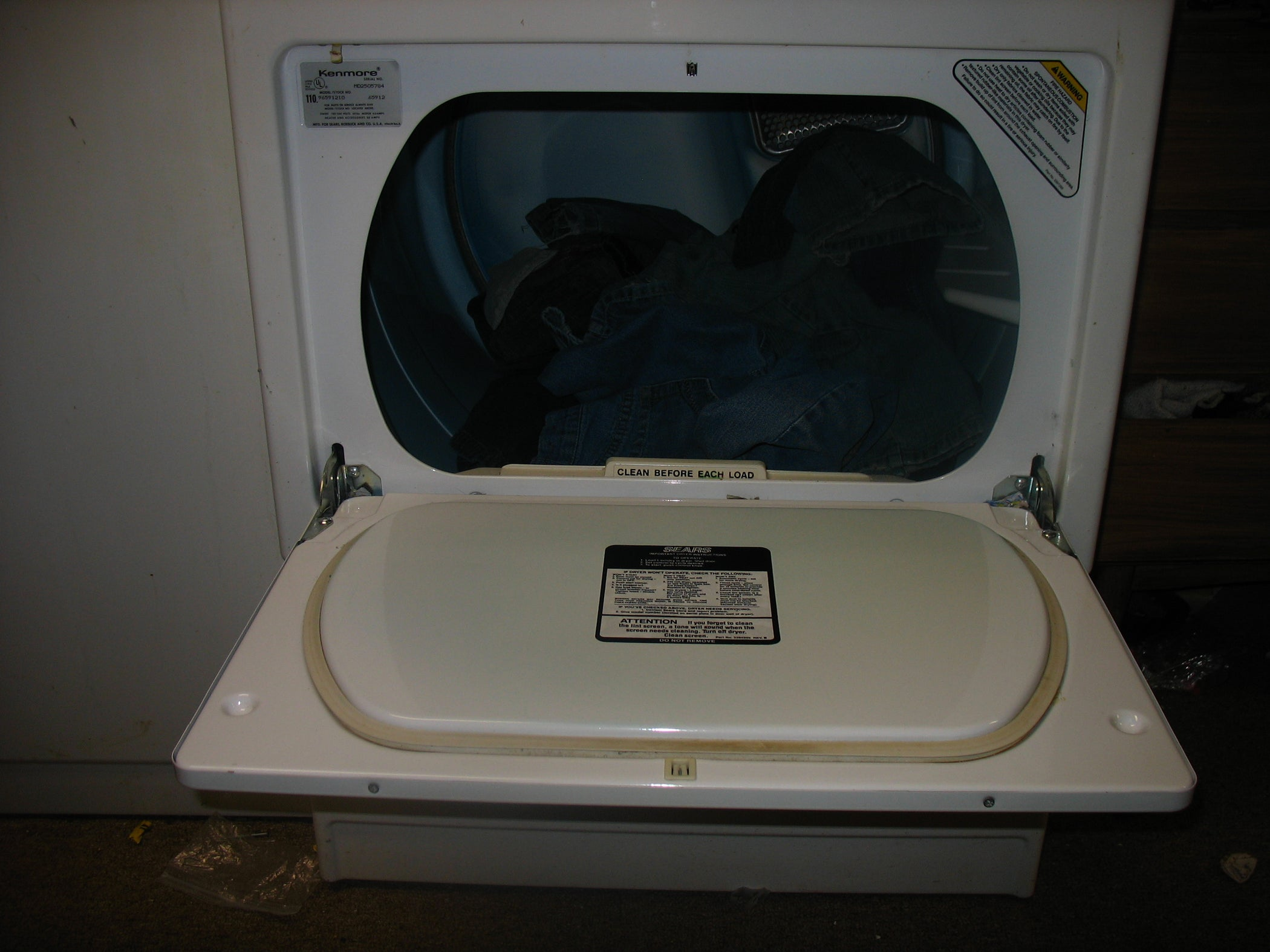 Dryer Wont Heat Up 5 Steps Is There A Diagram Showing All The Wires Coming To T5225