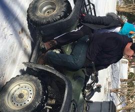 Restoring ATV Four Wheeler Plastic