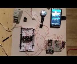 Doorbell Camera on Moto360 Using Nodemcu and Autoremote