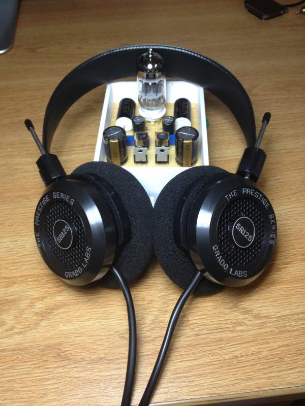 DIY Hi-Fi: Class a Hybrid Headphone Amp
