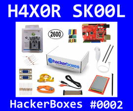 HackerBoxes 0002: Stepping up to ARM32, MCU Video, Wii Nunchuck