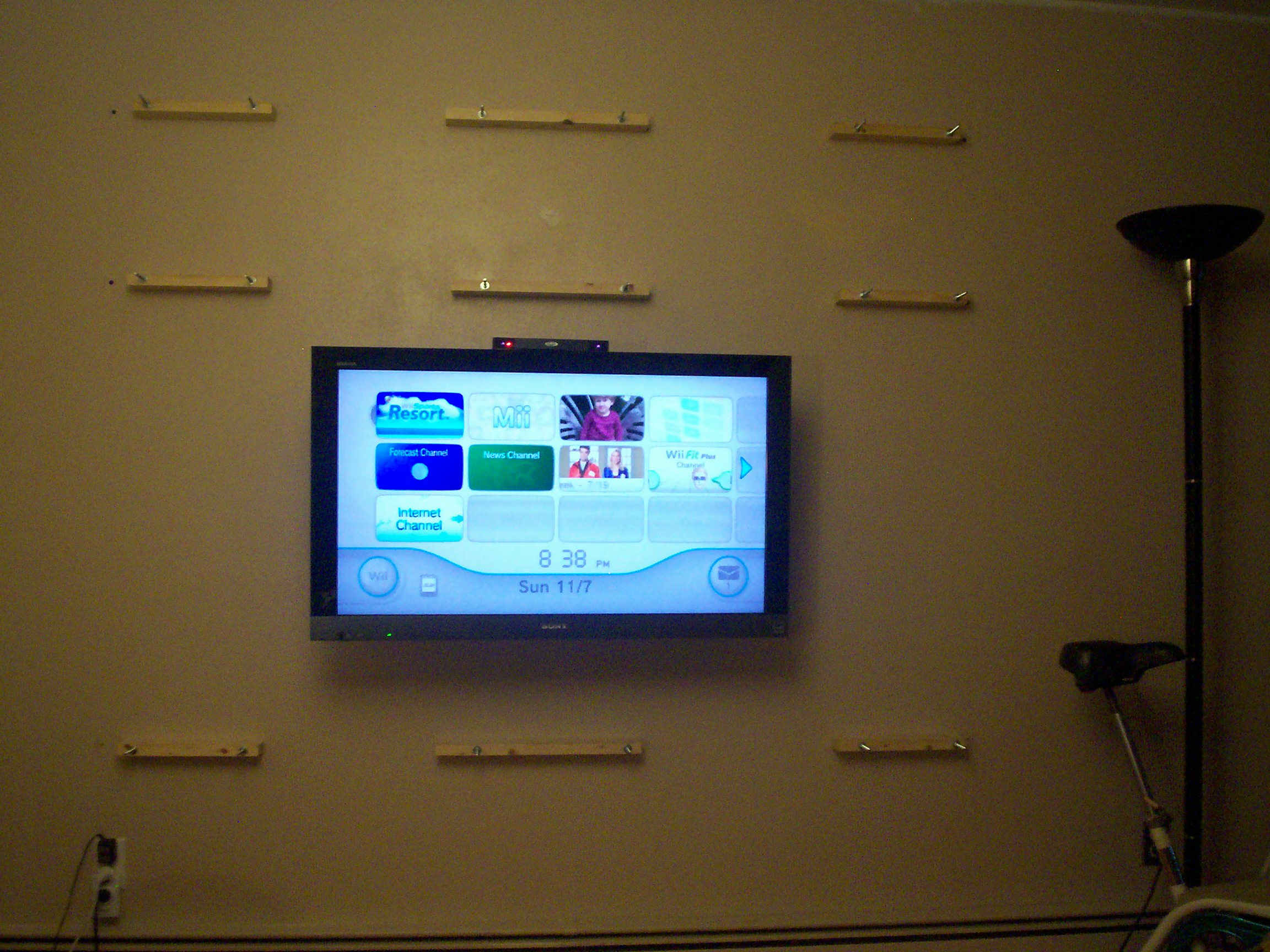 Picture of Wall Anchor Boards