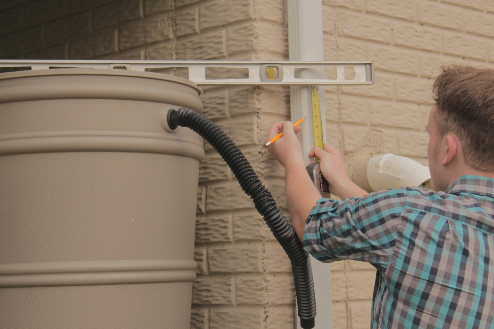 Picture of Downspout Hole