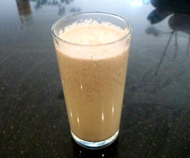 Apple and Honey Smoothie