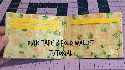 Picture of Updated Duck Tape Bifold Wallet