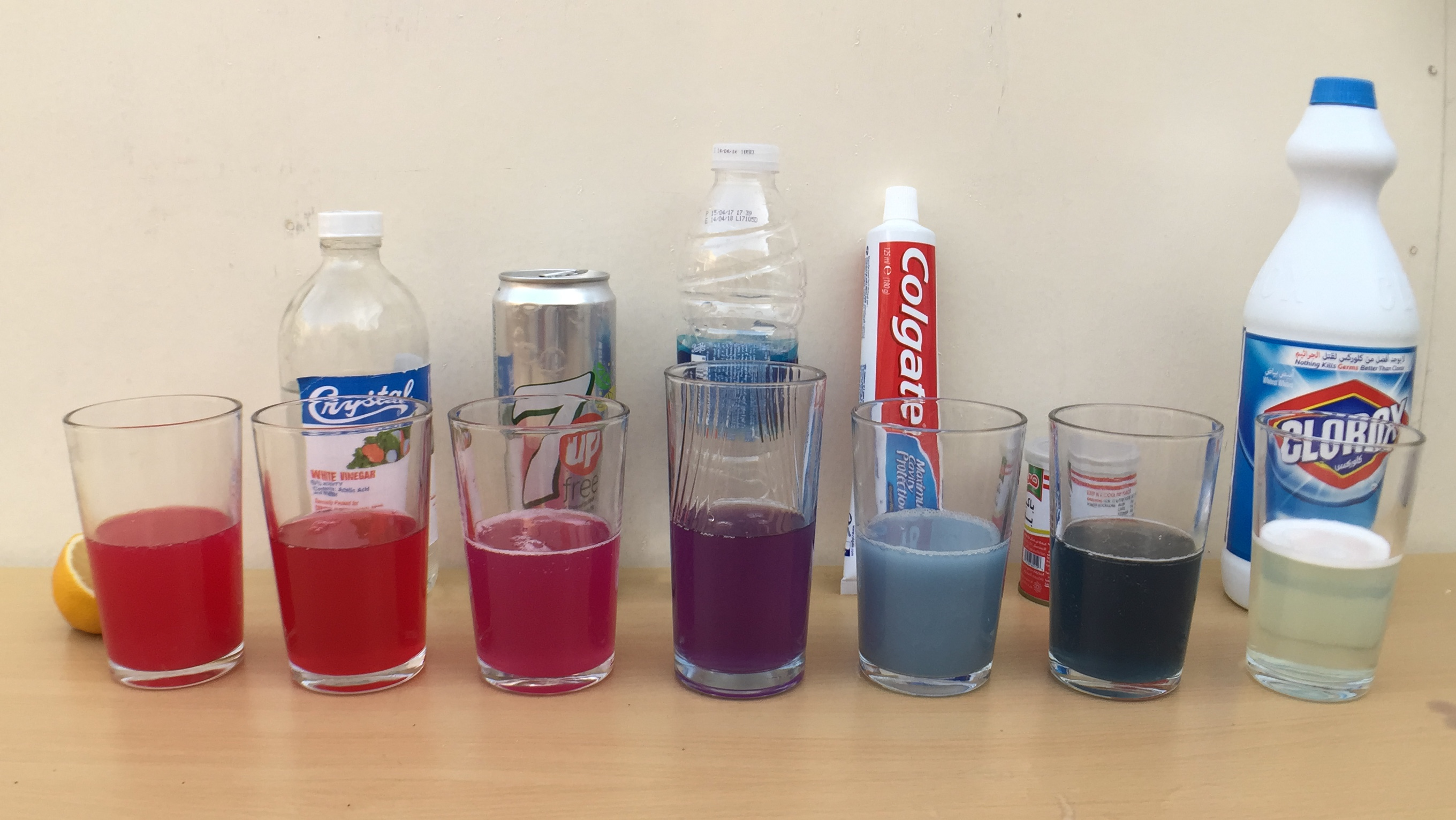 Picture of Acid/Base PH Indicator Experiment (Video)