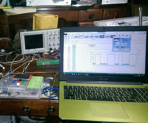 How to Make an Inexpensive 16 MHz Arduino Oscilloscope Using Excel and Your Computer Screen to Display
