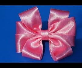Beautiful Bow of Satin Ribbons . Очень Красивый Бантик!