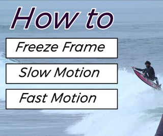 Freeze Frame, Slow Motion and Fast Motion in Adobe Premiere Pro