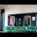 Solar Powered Crystal Spinner - Simple, Brilliant Customisable LDR System, Custom Gearbox. Just Add Crystals (and Sun)