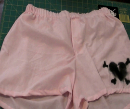 How To Make Anti-Valentine's Day Boxers out of old pillowcases