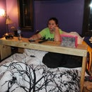 Over the bed table (Ikea copycat)