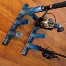 How to make a simple collapsible PVC fishing rod holder