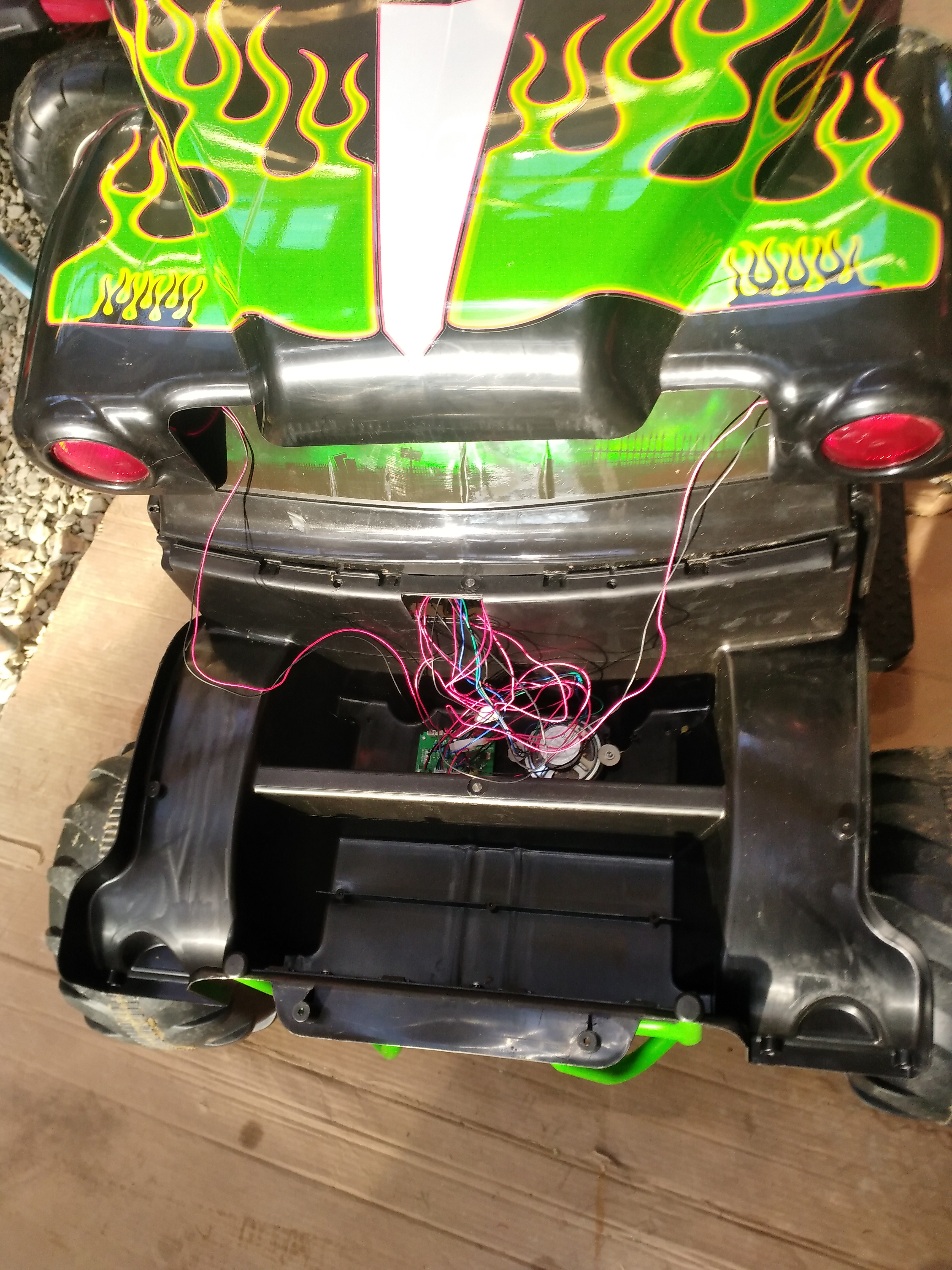 Picture of Disassemble the Hood and Trunk Pieces