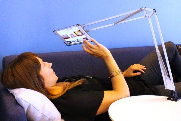 IKEA HACK: Articulating Tablet Mount
