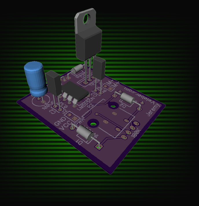 Picture of 555 PWM Controller