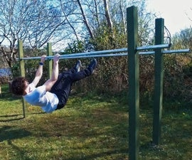 How to Build Parallel Bars for Calisthenics