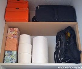Easy Extra Closet Shelf