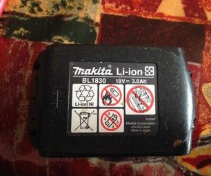 Makita 18v LXT Lithium-ion Battery Repair
