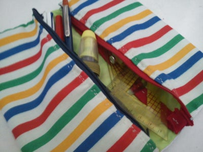 Two Pocket Pencilcase