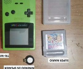Game Boy Color Upgrade Speaker DS