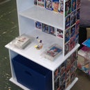 Sports Card Bookcase