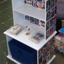 Sports Card Bookcase