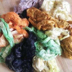 Dyeing Bamboo Fiber