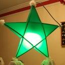 Make a Parol - a Filipino Christmas Lantern