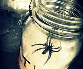 Spider Web Lanterns