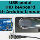 USB pedal HID keyboard with Arduino Leonardo