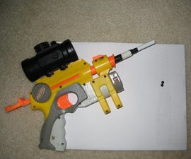 How to make an Nerf Bullet that shoots Air soft BBs