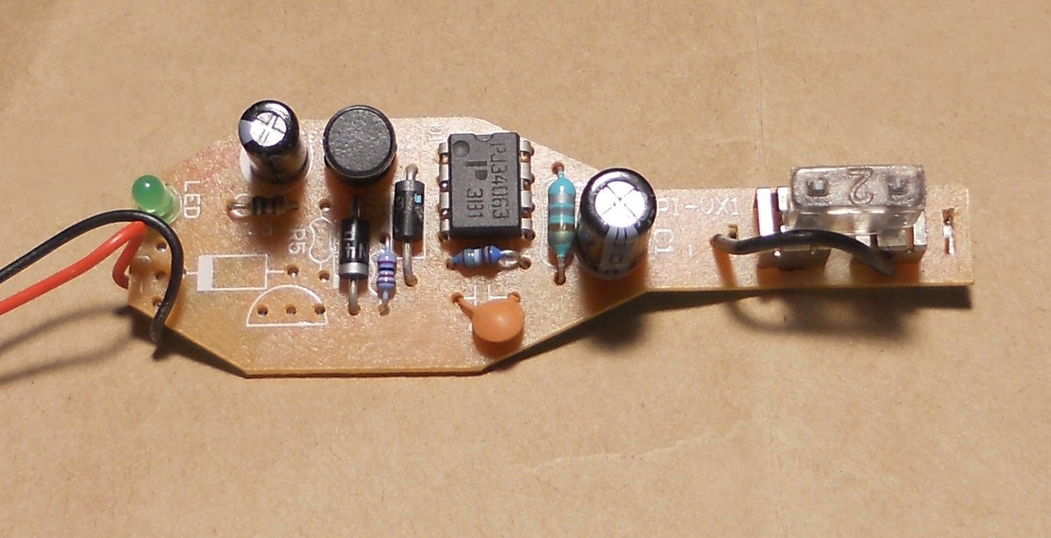Modifying The Output Voltage Of An Adjustable Dc To Converter Hacked Circuits By 9volts Phone Charger Hack 3 Steps