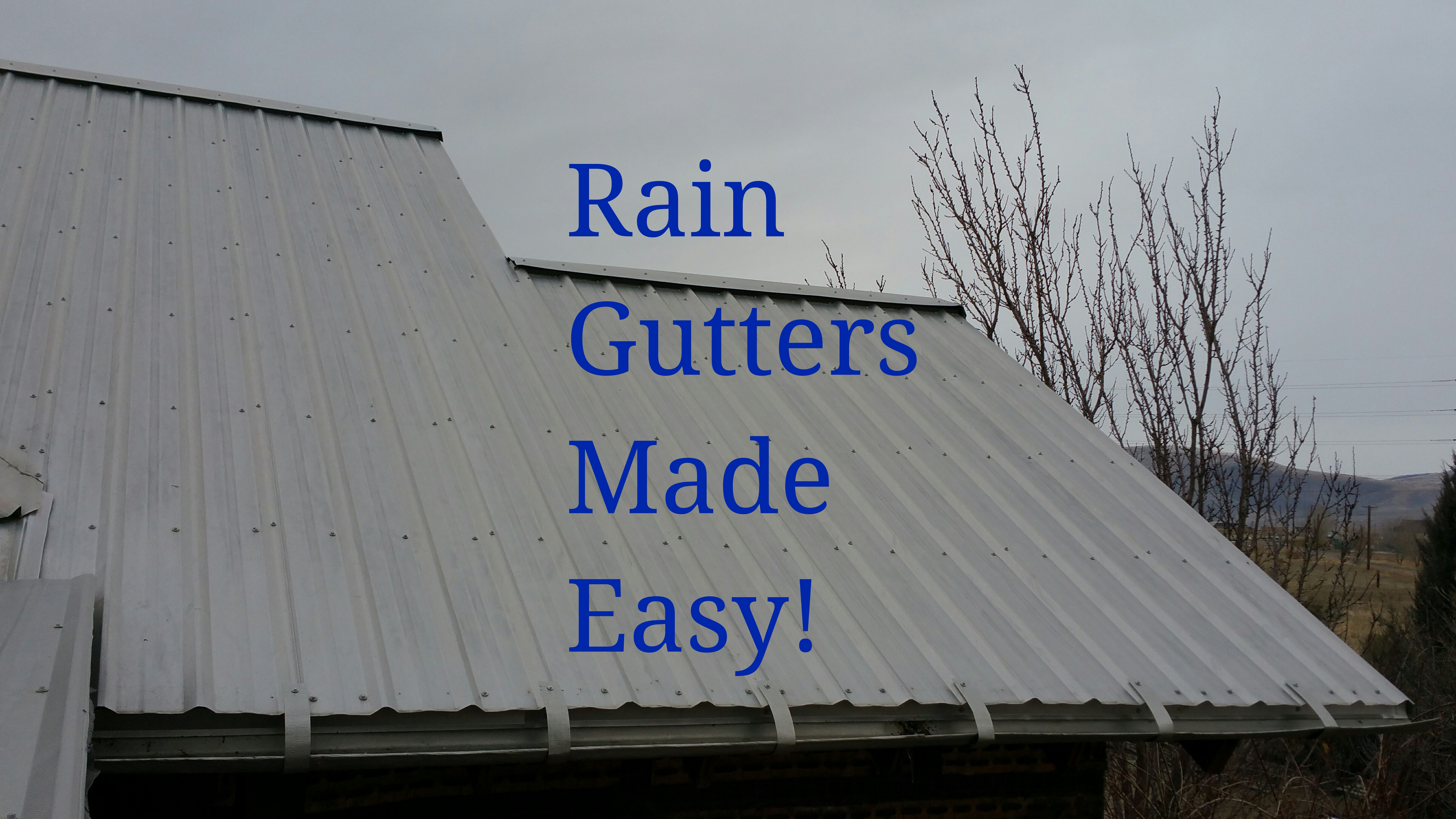 Picture of Rain Gutters Made Easy!