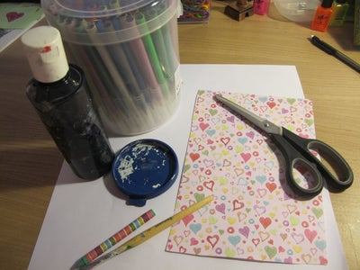 Supplies and Cutting
