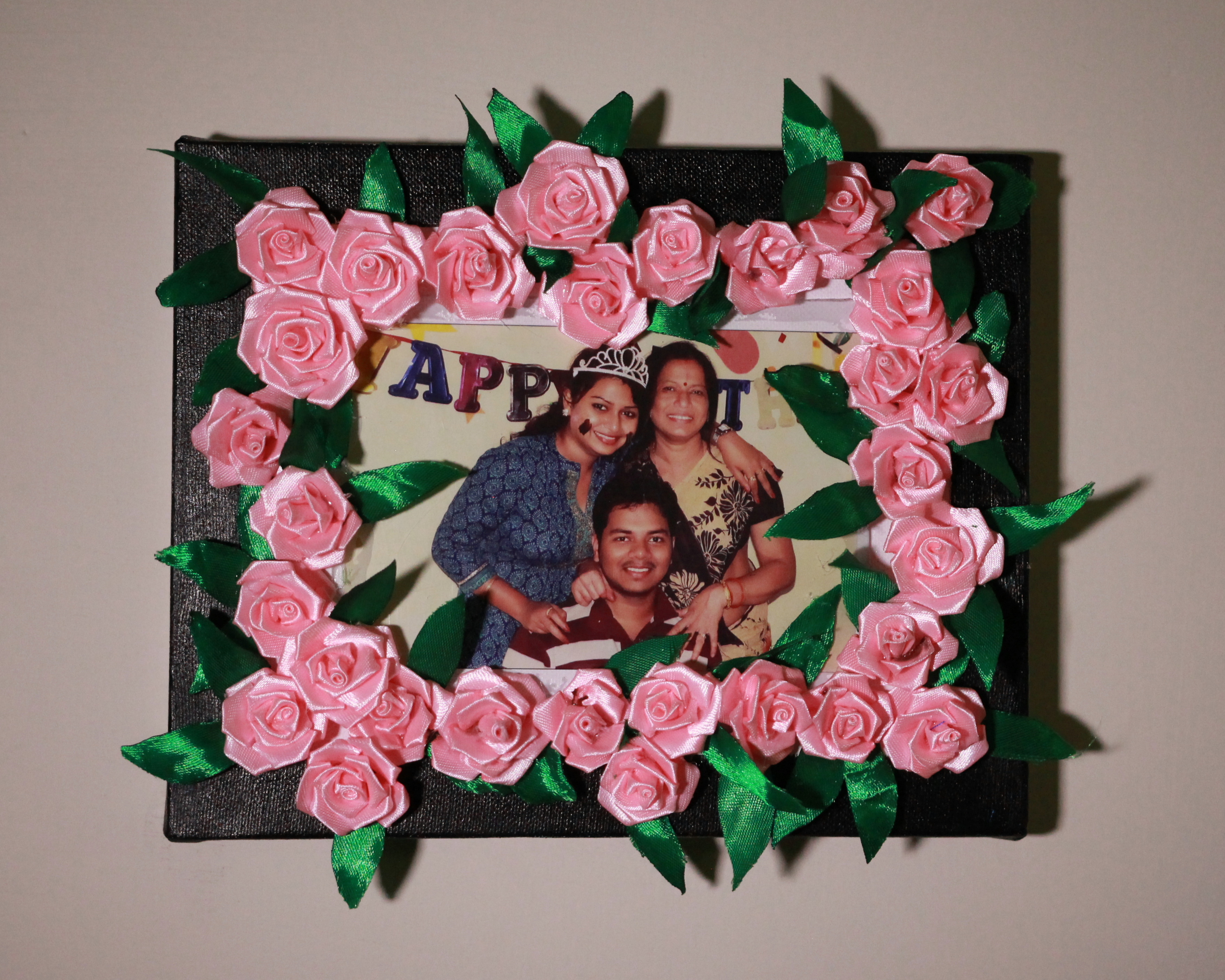 Picture of How to Make a Flowered Photo Frame