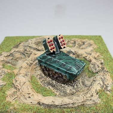 Picture of 3D Printed Micro-war Tanks